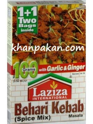 Laziza Behari Kebab Masala 100 Gms